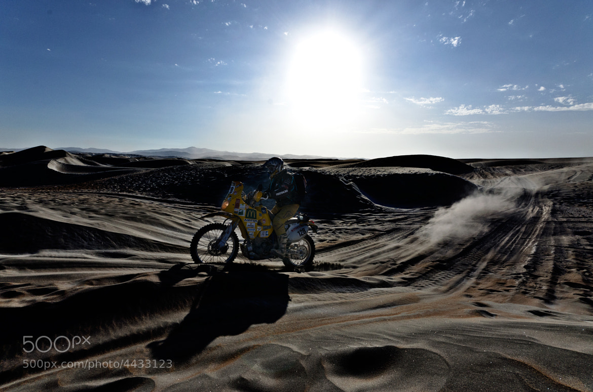 Photograph Dakar, bike by Esteban Cherres on 500px