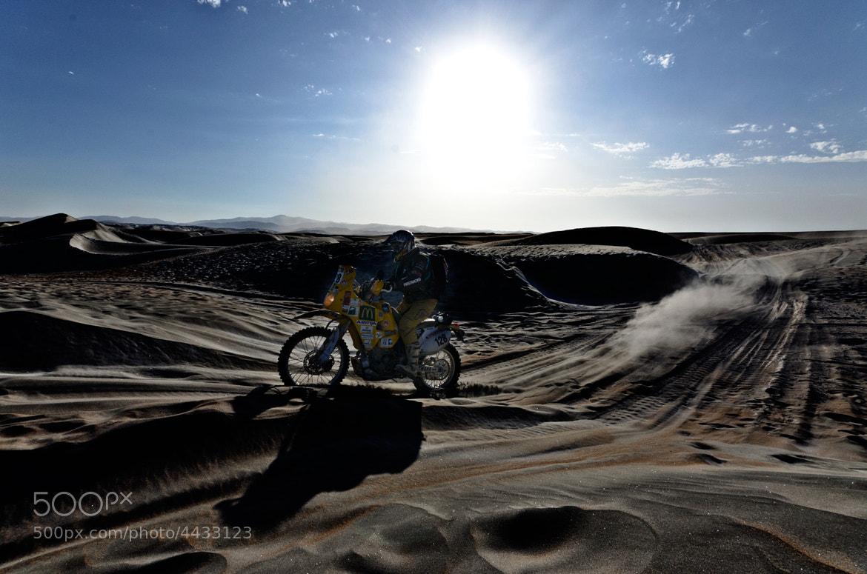 Photograph Dakar, bike by Esteban Cherres on 500px