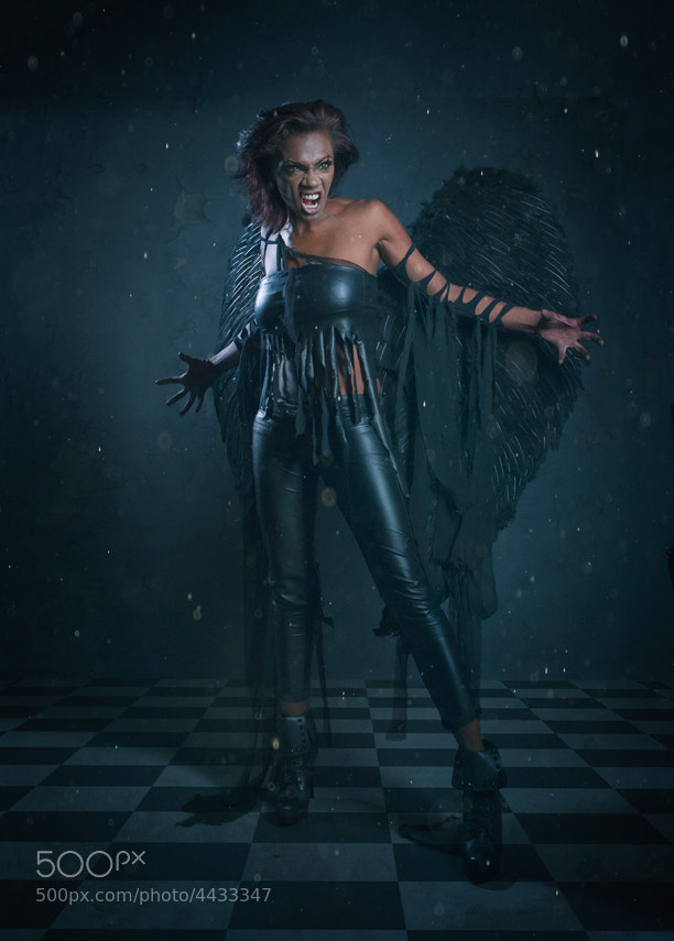 Photograph Dark Angel by Robert  Bentsen on 500px