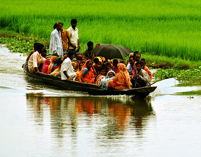 Photograph Traditional ferry by Motiur Rahman on 500px