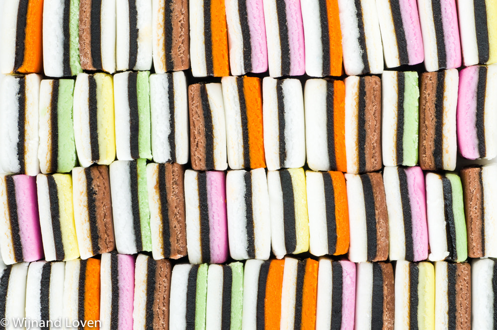 Photograph Abstract of liquorice allsorts by Wijnand Loven on 500px