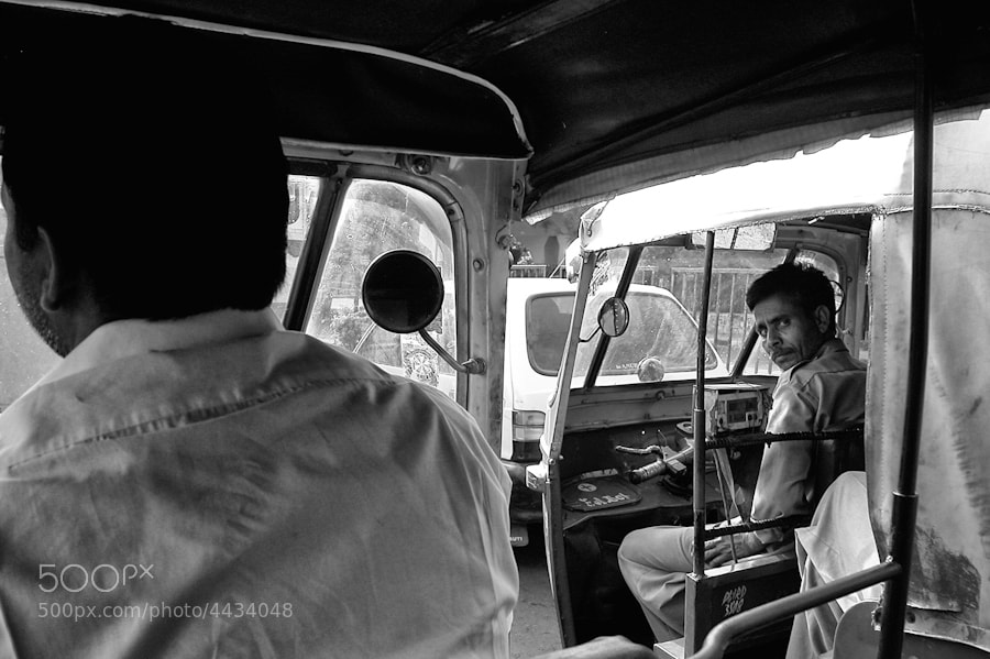 Photograph Taxi driver by Gianni Dominici on 500px