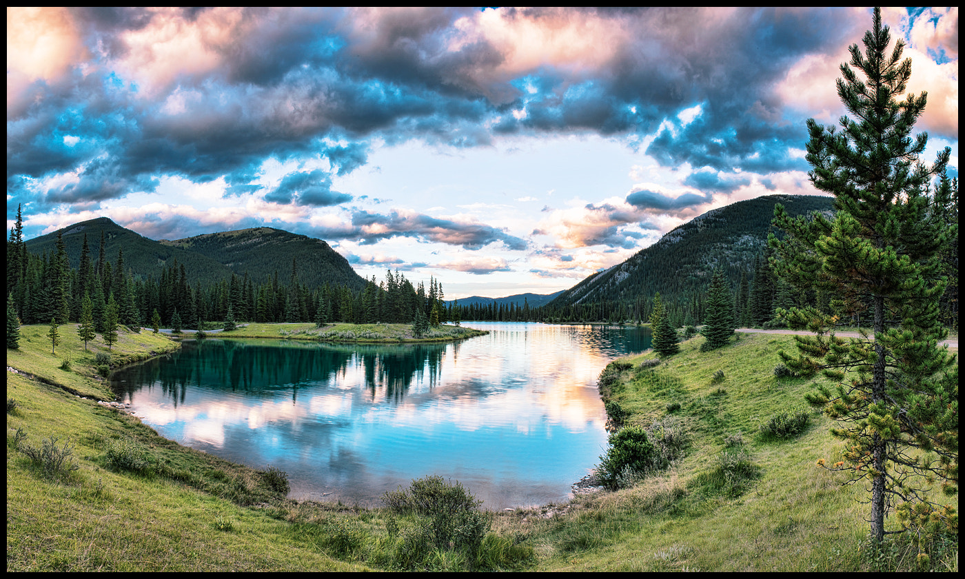 Photograph Mountain Lake in The Rockies by Alex Gubski on 500px