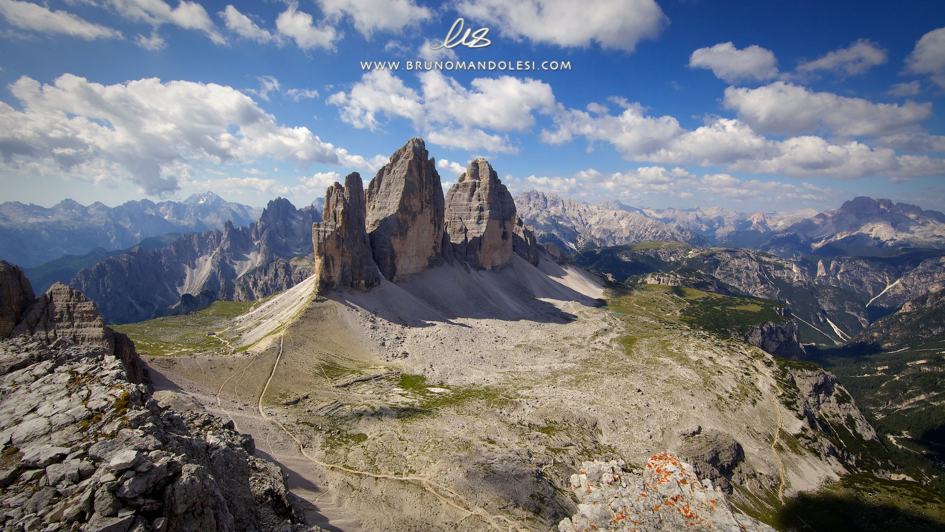 Photograph Tre Cime by bruno mandolesi on 500px