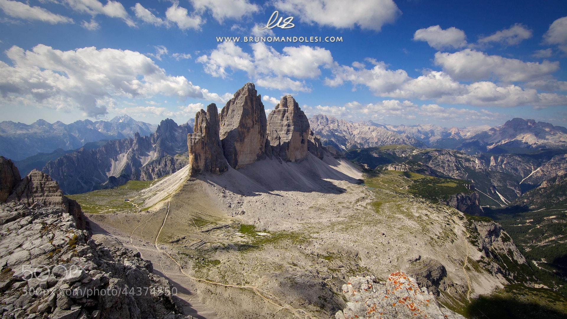 Photograph Tre Cime by bruno mandolesi on 500px