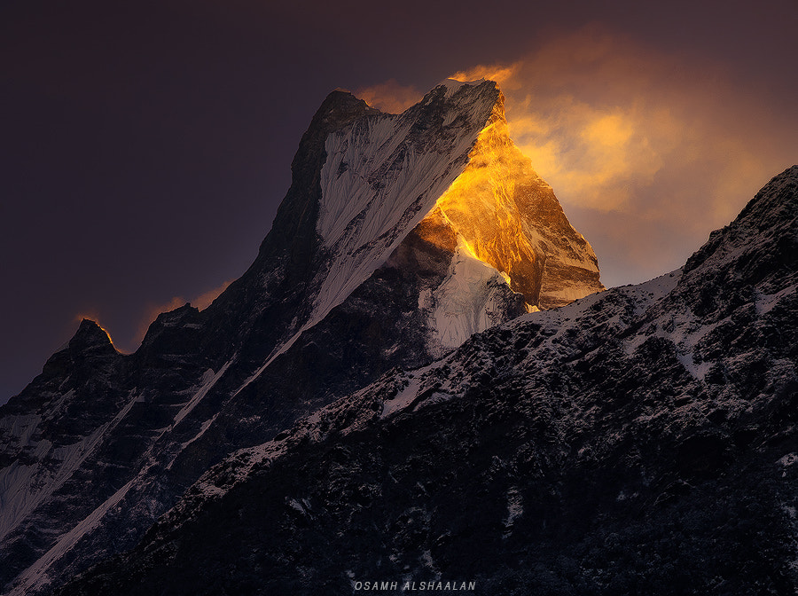 Photograph Burning Peak by Osamh Alshaalan on 500px