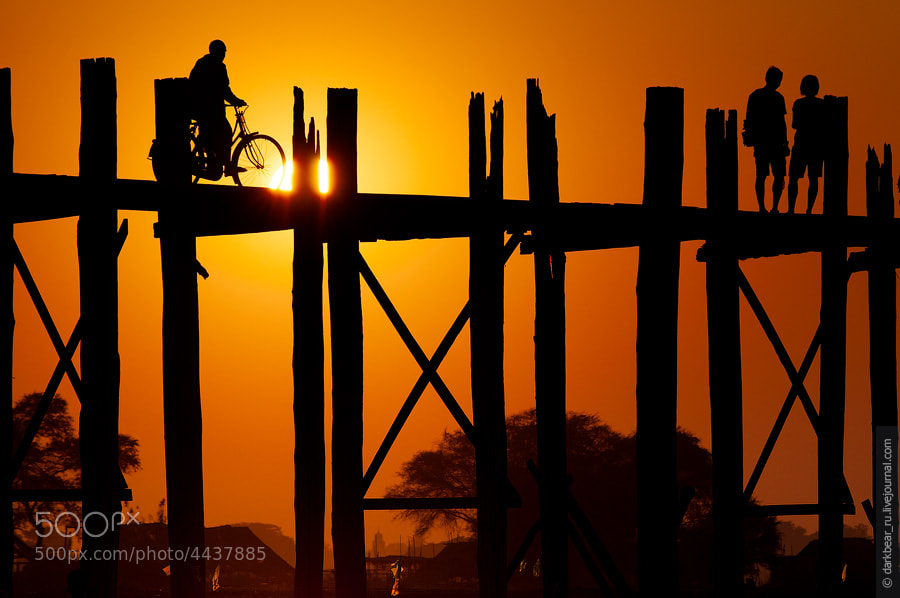 Photograph Mandalay sunset by Alexey Abramenko on 500px