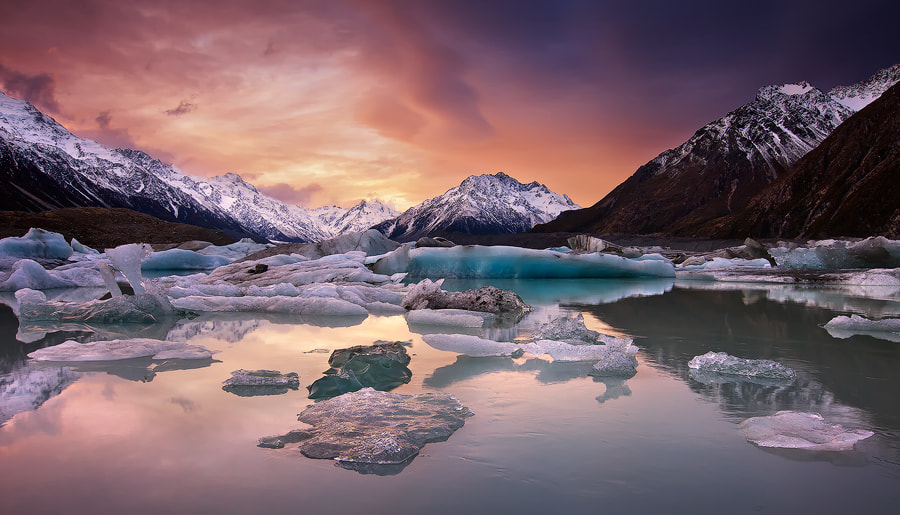 Photograph Frozen Tears Of Fire by Darren J Bennett on 500px