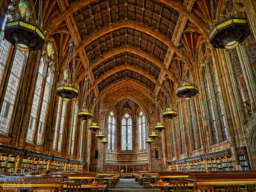 Photograph University of Washington Graduate Library by Tyson Poeckh on 500px
