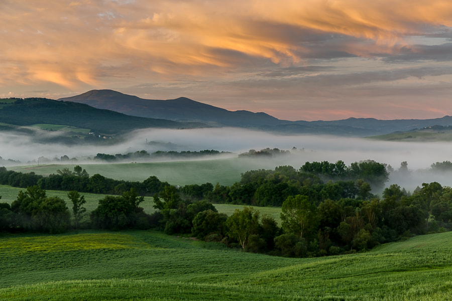 Photograph Tuscan morning light and color by Hans Kruse on 500px