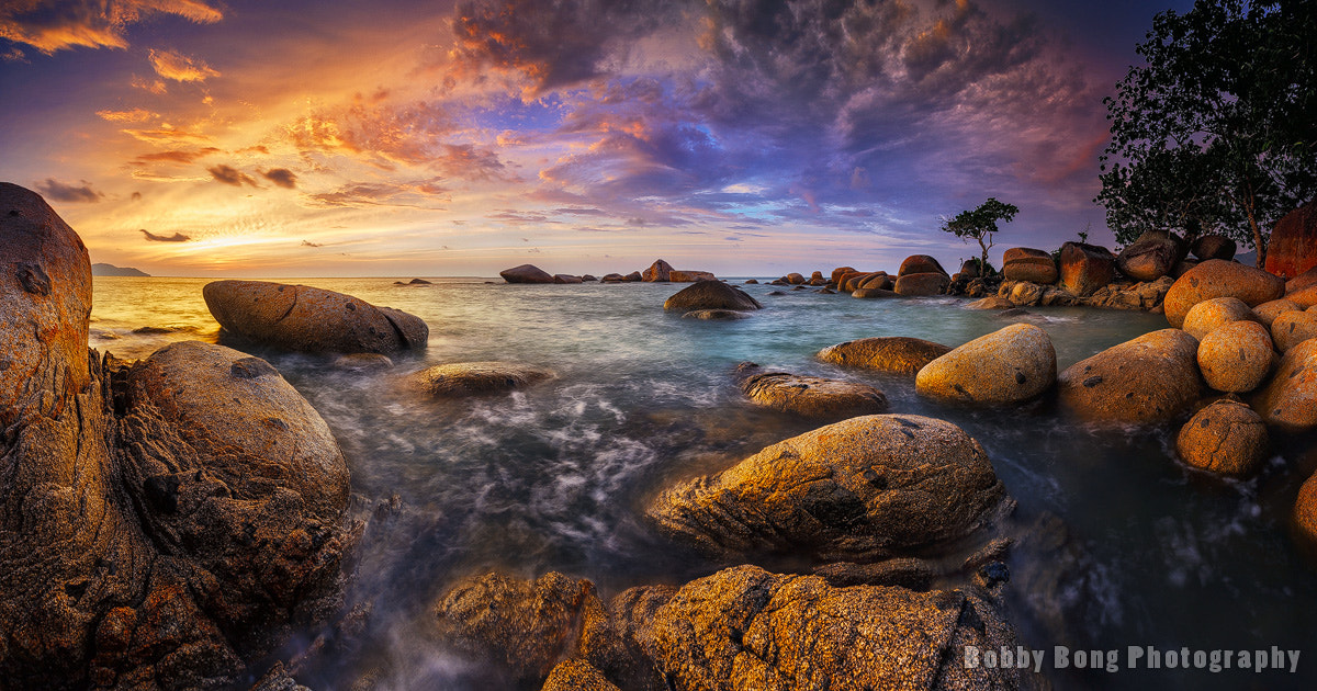 Photograph World of Golden Rocks by Bobby Bong on 500px