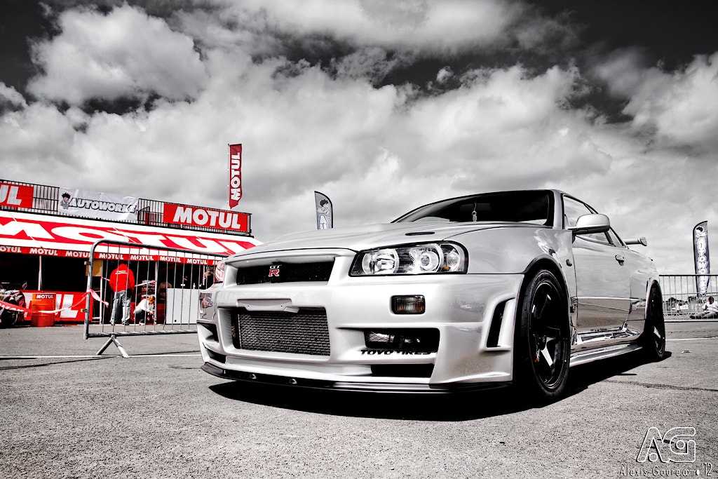 Photograph Nissan R34 GT-R by Alexis Goure on 500px