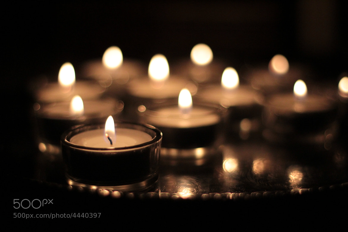Photograph Tealights by Andrew Allan on 500px