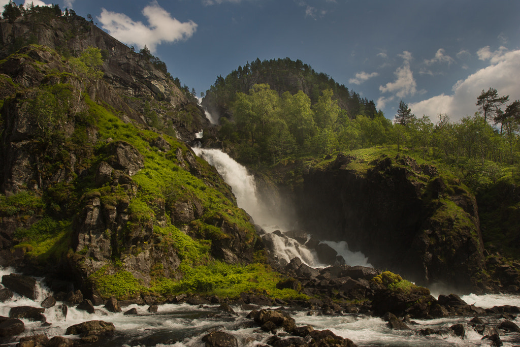 Photograph Låtefoss by Terje Nicolaysen on 500px