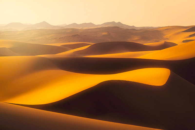 Photograph Waves of sand from the western region of Saudi Arabia by Nasser  AlOthman on 500px