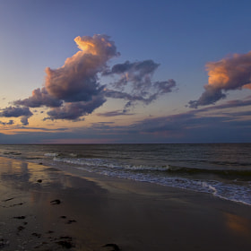 Grandview Beach Sunset by Lorraine Hudgins (lorrainehudgins)) on 500px.com