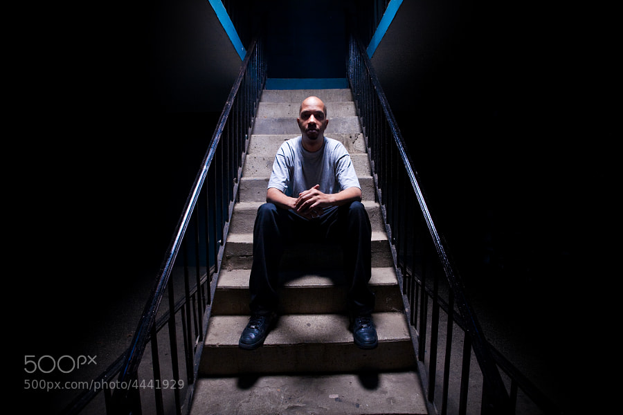 """Shot for Redefinition Records in Passaic, New Jersey. Be sure to check out their roster of artists and releases here: http://www.redefinitionrecords.com.  This image was used as a cover to the LP 'Night Shift', released on 12"""" vinyl and CD."""