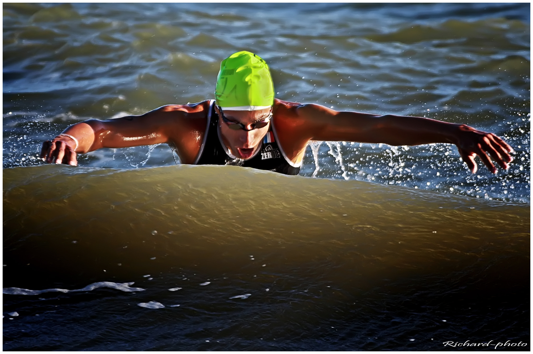 Photograph Aquathlon by Richard Echasseriau on 500px