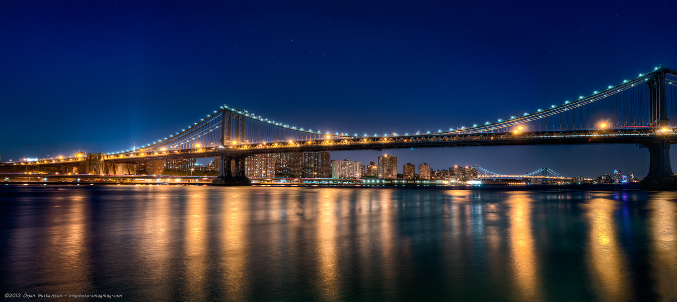 Photograph Manhattan Bridge by Örjan Gustavsson on 500px