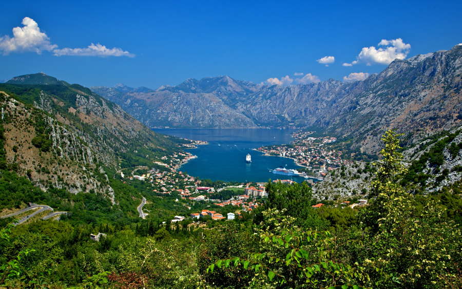 Photograph Bay of Kotor, Montenegro by Europe Trotter on 500px