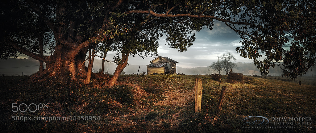 Photograph Rural Awakening by Drew Hopper on 500px