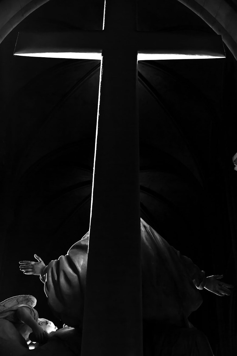 Photograph Minimalist Christ. by Laurence Penne on 500px