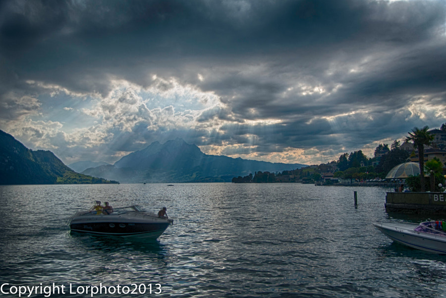 Lake Lucerne, Weggis, Switzerland