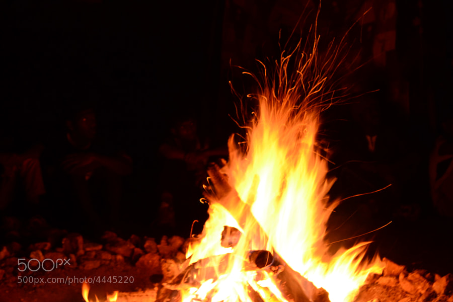 Camp Fire by  Beta (beta)) on 500px.com