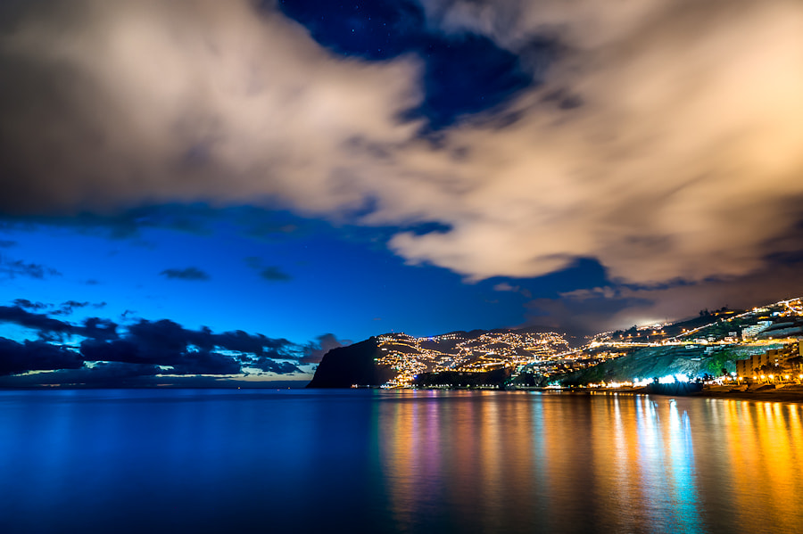 Photograph Madeira Night Shot by Magnus Larsson on 500px