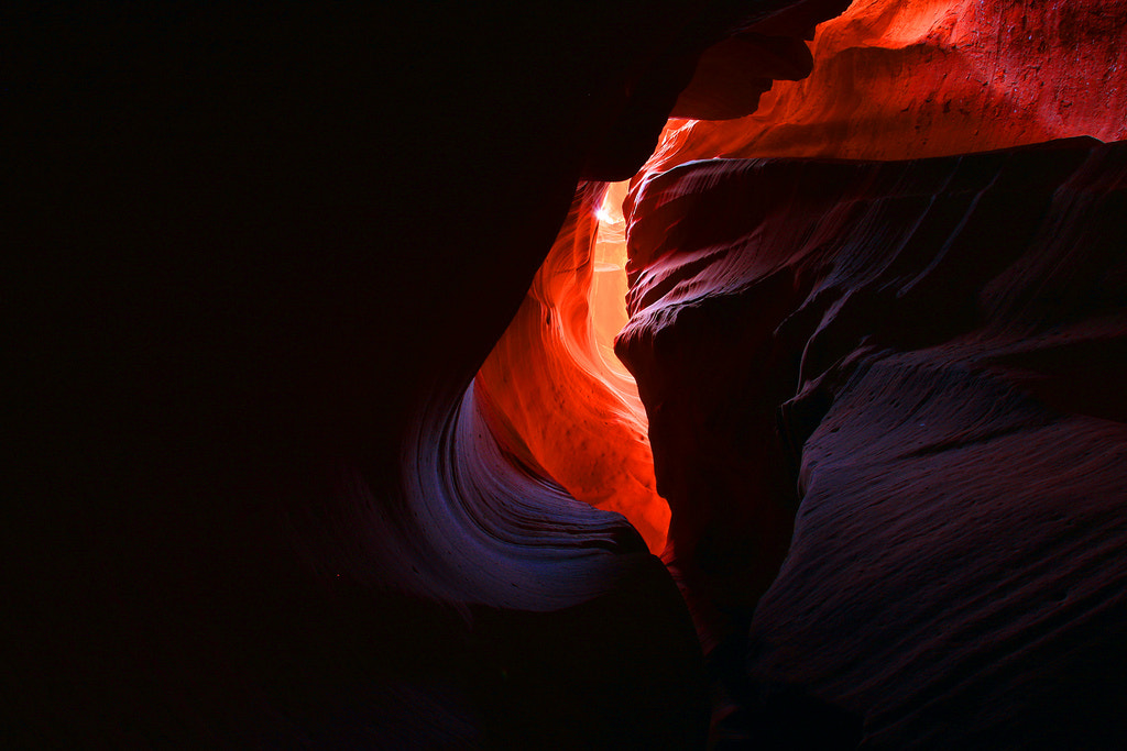 Photograph Slot Canyon by Biju Chandroth on 500px