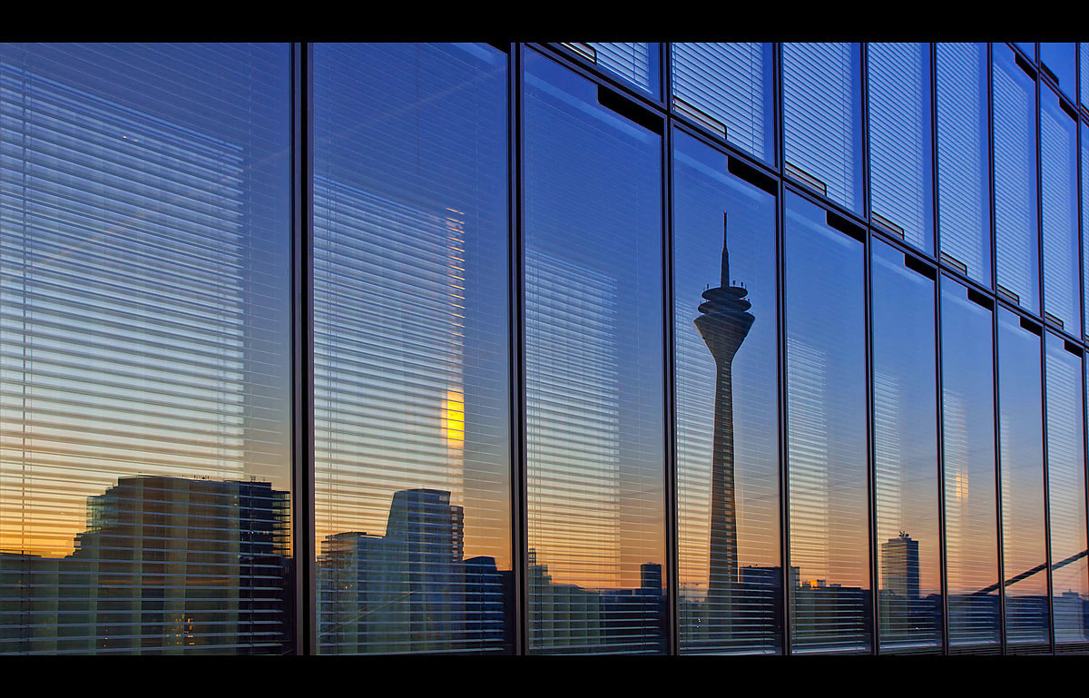 Photograph Düsseldorf in the mirror by André Vollrath on 500px