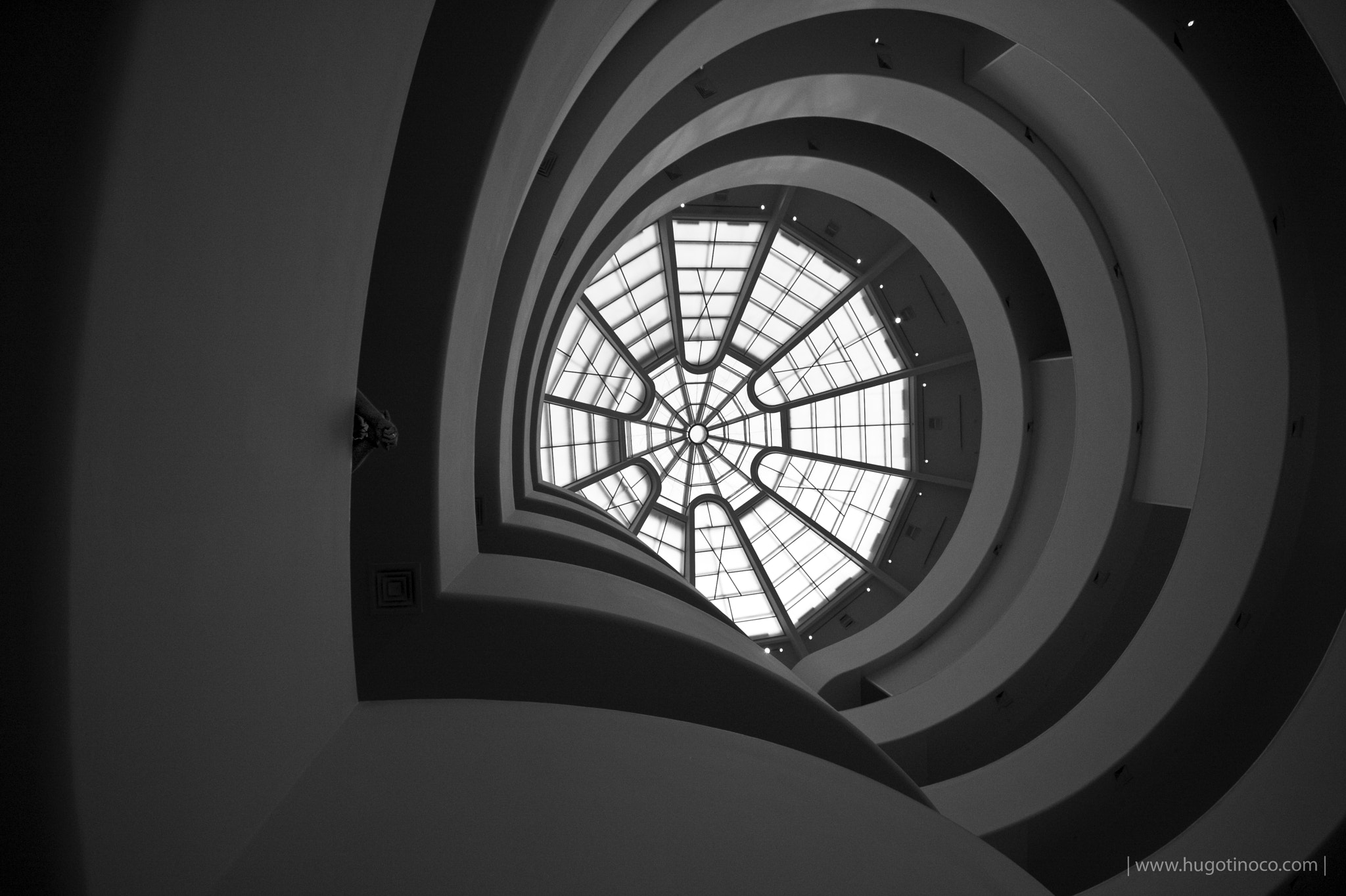 Photograph Inside Guggenheim by Hugo Tinoco on 500px