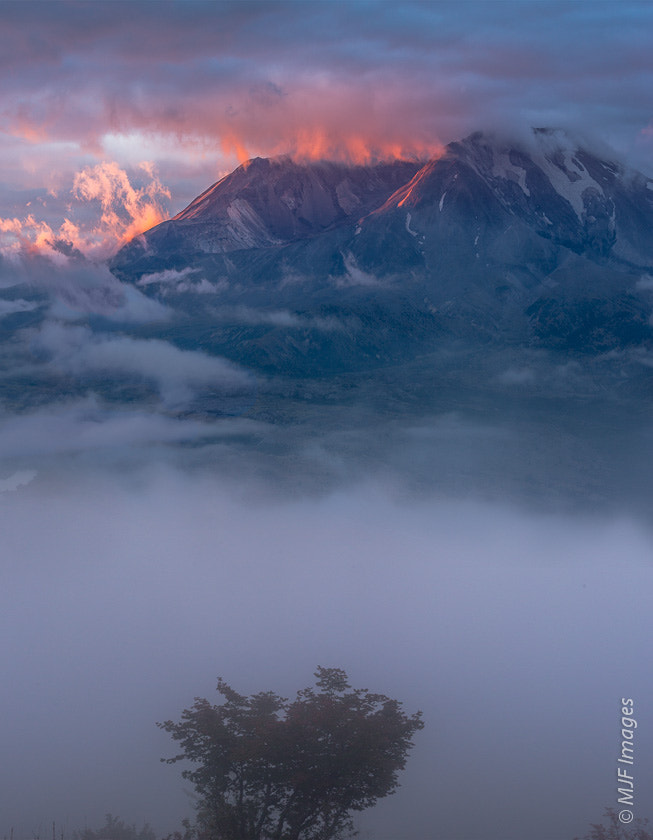 Photograph One Foggy Volcano by Michael Flaherty on 500px