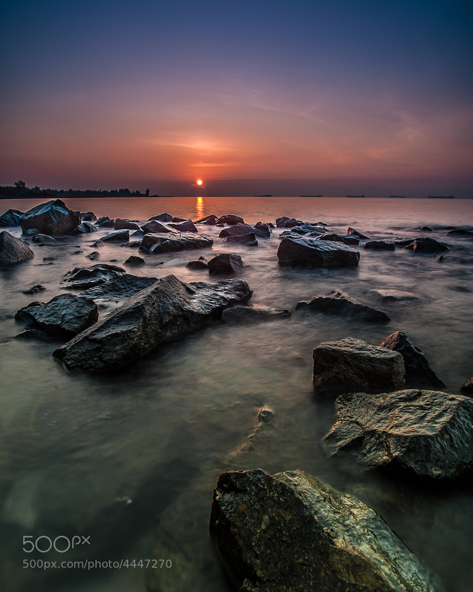 Photograph Shallow Rocks by Edward Tian on 500px