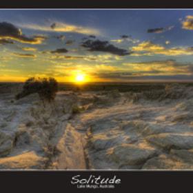 Solitude por Bruce Levick