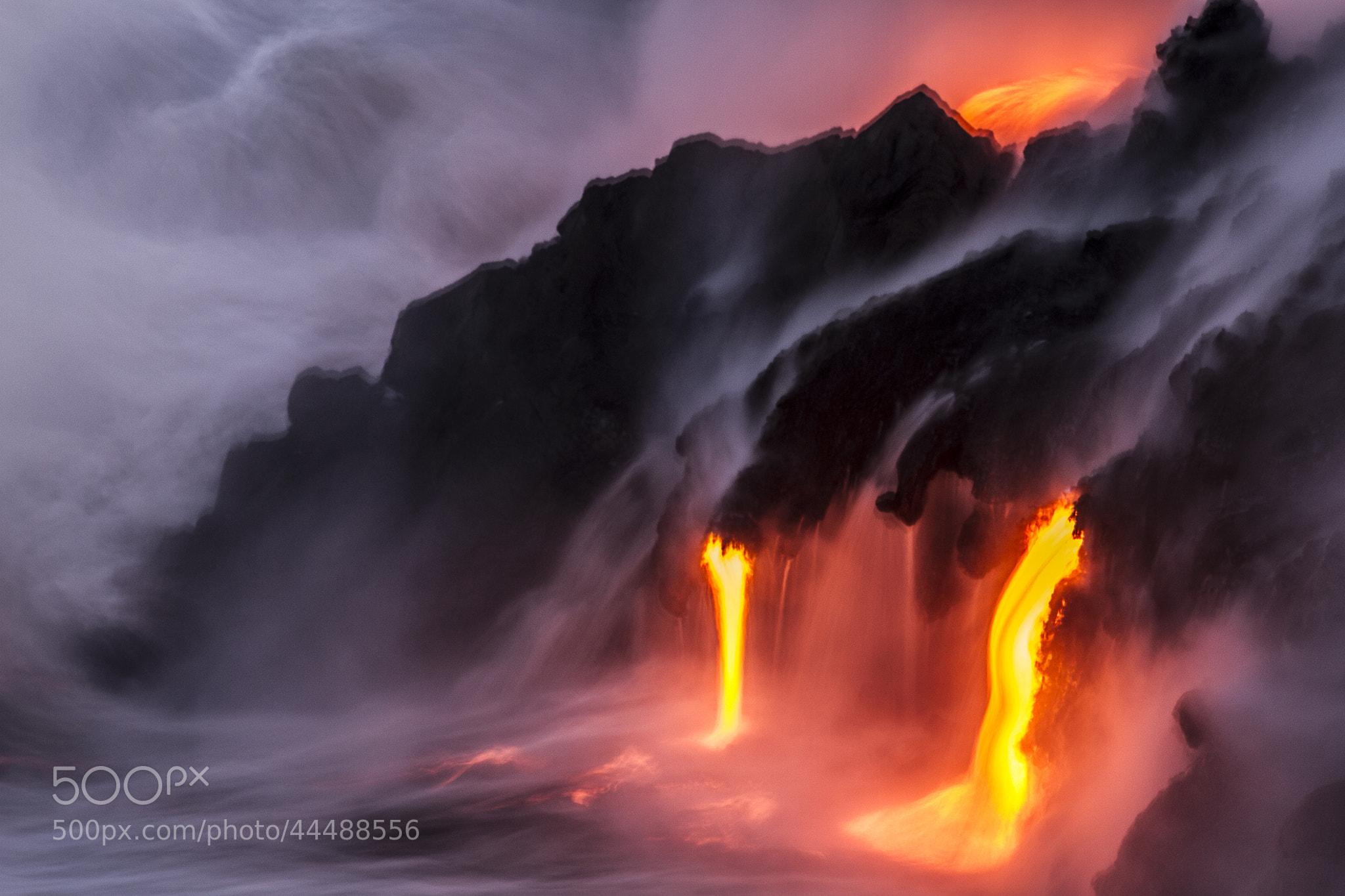 Photograph Lavafalls by Jordan Lacsina on 500px