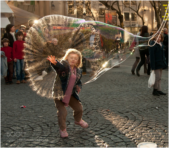 Photograph Bubble Burst by Thomas England on 500px