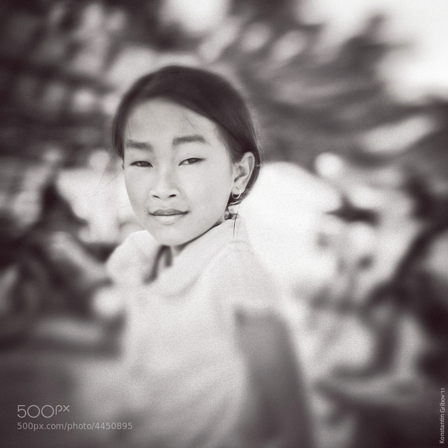 Photograph Portrait of vietnamese girl by Konstantin Gribov on 500px