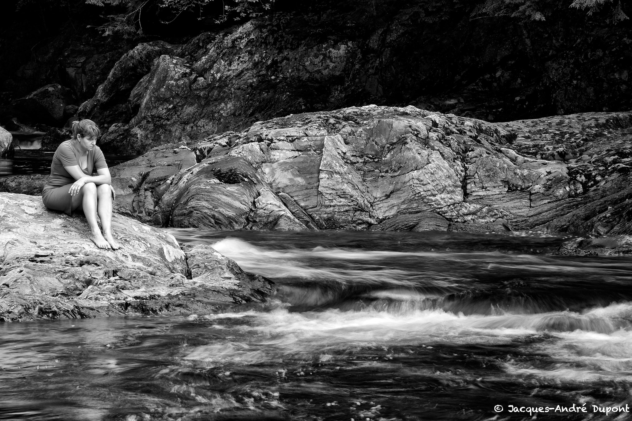Photograph The stream by Jacques-Andre Dupont on 500px