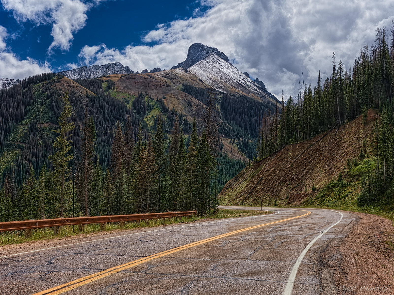 Photograph Nearing the Peak of Cameron Pass by Michael Menefee on 500px