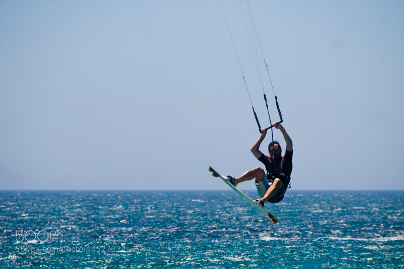 Photograph kitesurf by Pedro Sanz on 500px