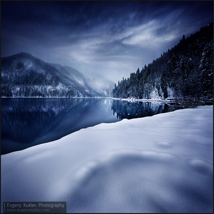 Photograph Winter lake by Evgeny Kuklev on 500px