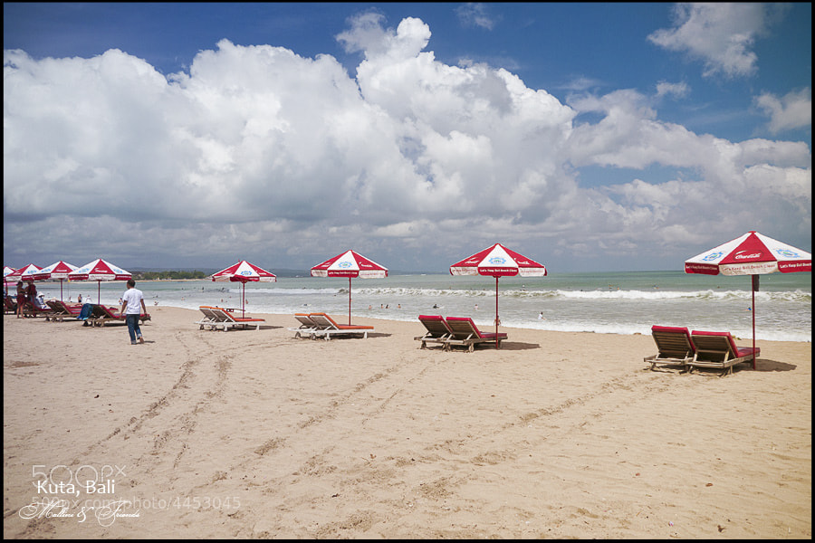 Photograph Empty Lounge on Kuta Beach by Igor M on 500px