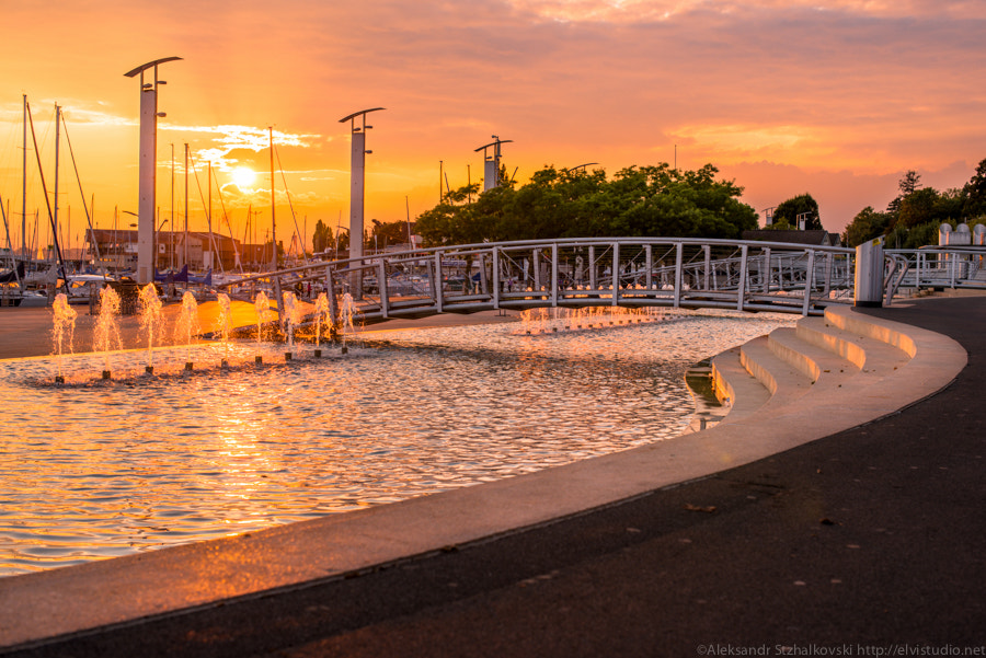 Photograph Sunset in Lausanne by Alyaksandr Stzhalkouski on 500px