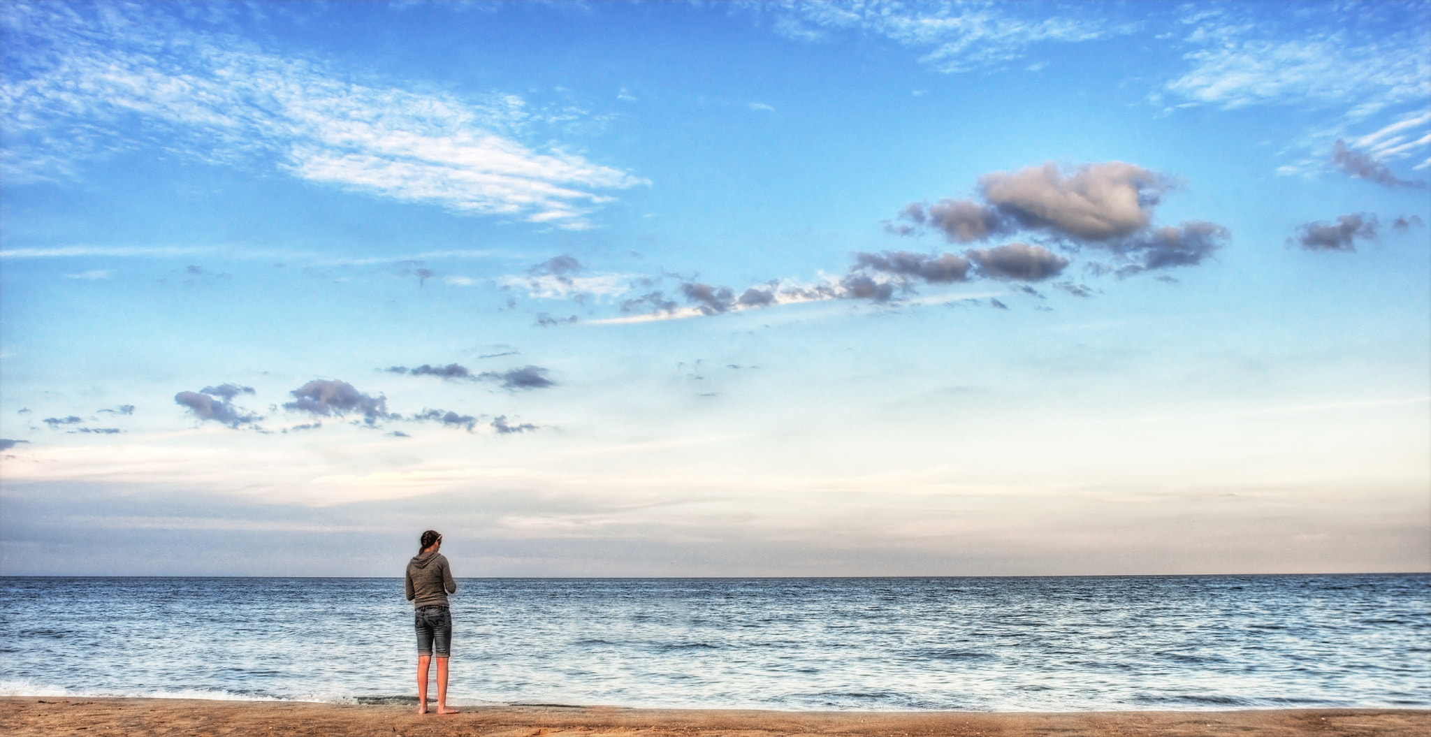 Photograph Girl and the Sea by Enkased  on 500px