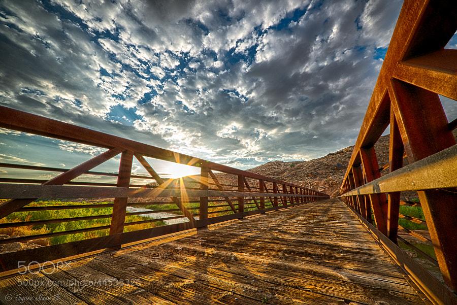 Photograph Virgin River Bridge by James Shaw Jr on 500px