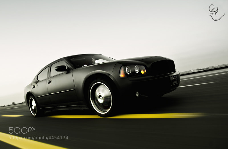 Photograph Dodge Charger ! Black ! by Abdullah Al-Essa on 500px