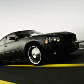 Dodge Charger ! Black ! by Abdullah Al-Essa (AbdullahAl-Essa)) on 500px.com