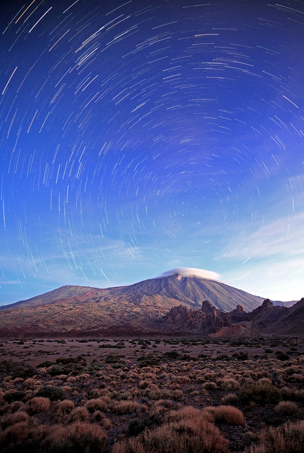 Photograph [ ...startrails ] by D-P  Photography on 500px