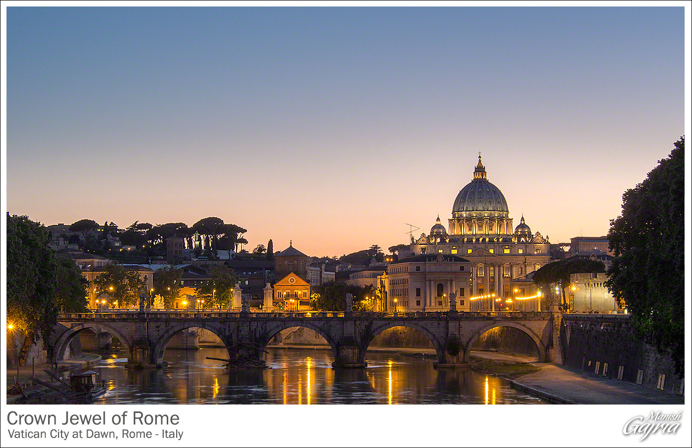 Photograph Crown Jewel of Rome by Manish Gajria on 500px